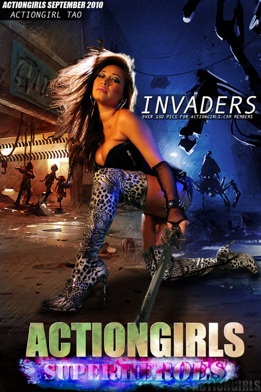 Tao - `Invaders` - for ACTIONGIRLS HEROES