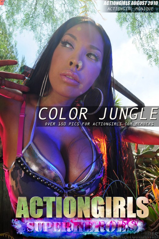 Monique - `Color Jungle` - for ACTIONGIRLS HEROES