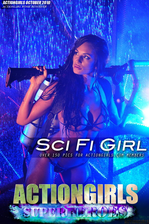 Rosie Revolver - `Sci Fi Girl` - for ACTIONGIRLS HEROES