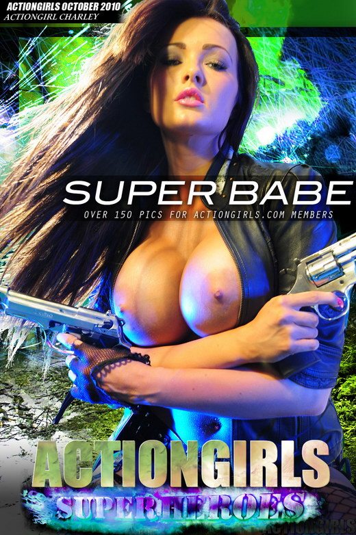 Charley - `Super Babe` - for ACTIONGIRLS HEROES
