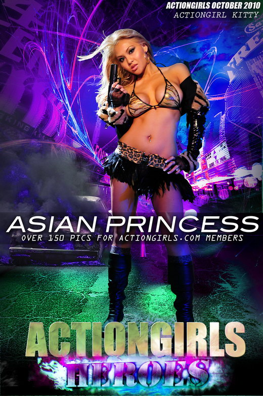 Kitty - `Asian Princess` - for ACTIONGIRLS HEROES
