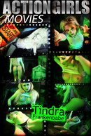 Tindra in Frankenbabe video from ACTIONGIRLS HEROES