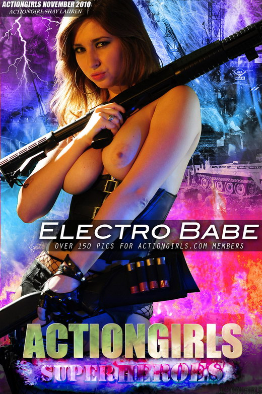 Shay Lauren - `Electro Babe` - for ACTIONGIRLS HEROES
