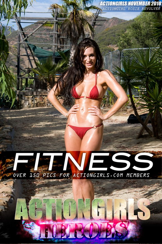 Rosie Revolver - `Fitness` - for ACTIONGIRLS HEROES