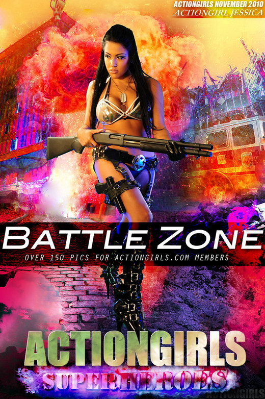 Jessica - `Battle Zone` - for ACTIONGIRLS HEROES