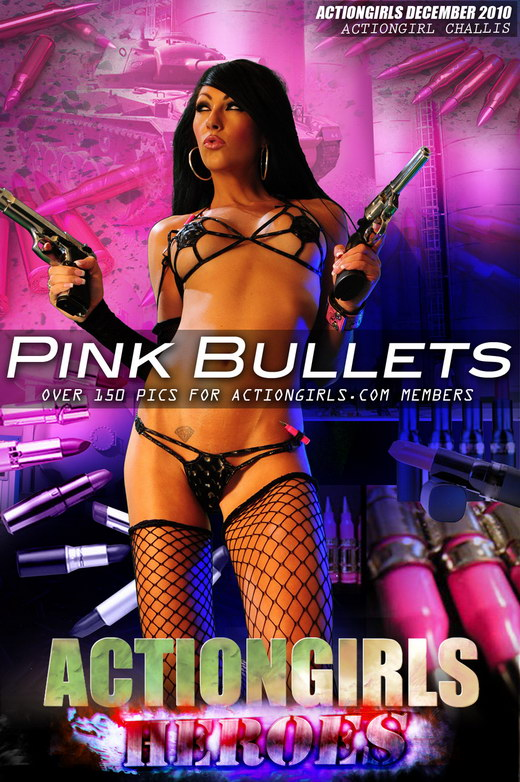 Challis - `Pink Bullet` - for ACTIONGIRLS HEROES
