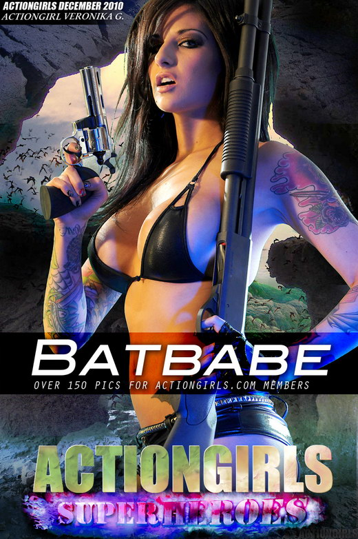 Veronika G - `Batbabe` - for ACTIONGIRLS HEROES