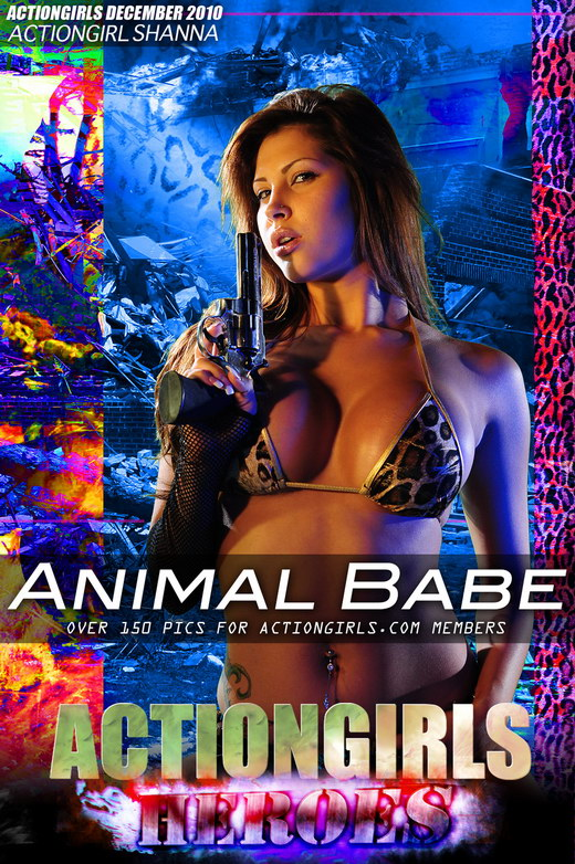 Shanna - `Animal Babe` - for ACTIONGIRLS HEROES