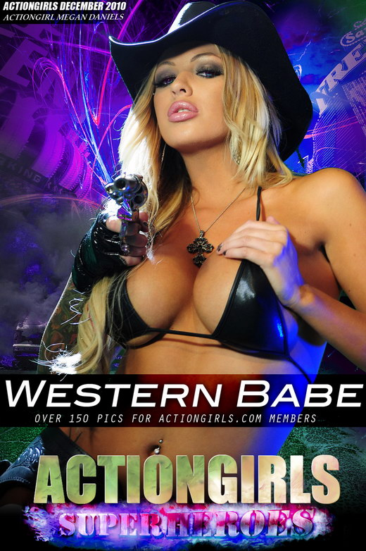 Megan - `Western Babe` - for ACTIONGIRLS HEROES