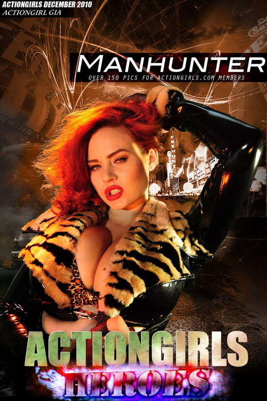 Gia - `Manhunter` - for ACTIONGIRLS HEROES