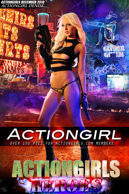 Denise - `Actiongirl` - for ACTIONGIRLS HEROES