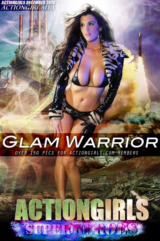 Mya - `Glam Warrior` - for ACTIONGIRLS HEROES