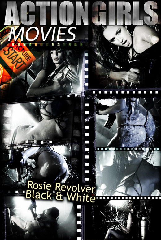 Rosie Revolver - `Black & White` - for ACTIONGIRLS HEROES