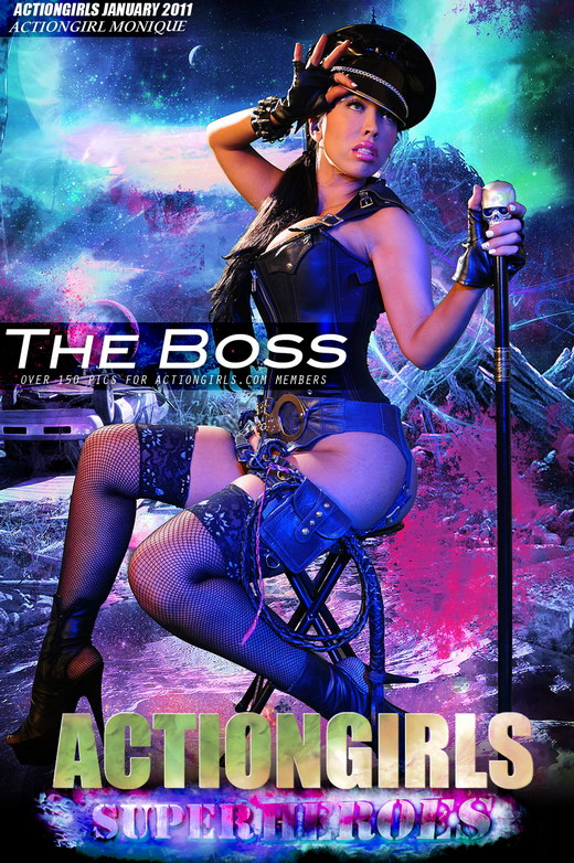 Monique in The Boss gallery from ACTIONGIRLS HEROES