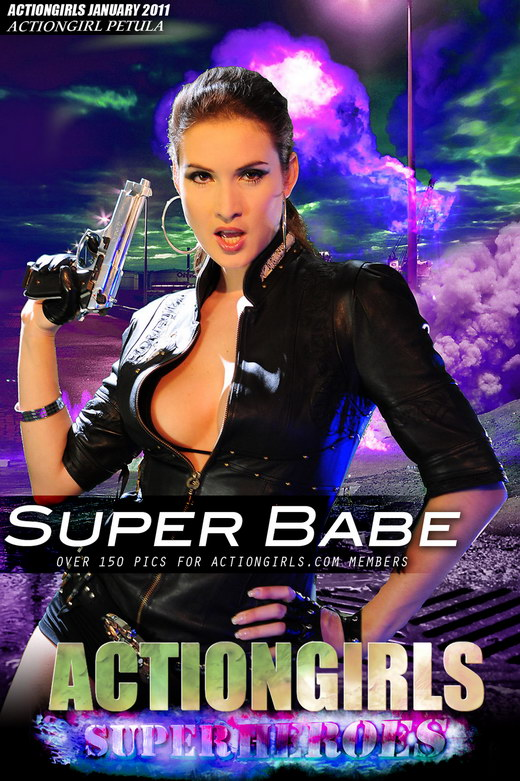 Petula - `Super Babe` - for ACTIONGIRLS HEROES