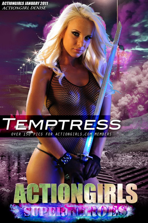 Denise - `Temptress` - for ACTIONGIRLS HEROES