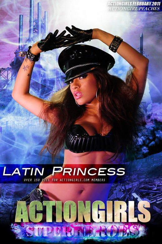 Peaches - `Latin Princess` - for ACTIONGIRLS HEROES