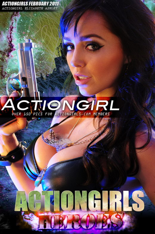 Elizabeth Ashley - `Actiongirl` - for ACTIONGIRLS HEROES