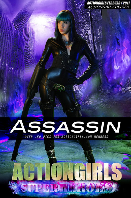 Chelsea - `Assassin` - for ACTIONGIRLS HEROES