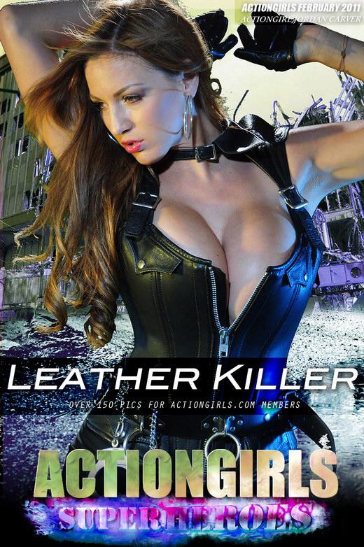 Jordan - `Leather Killer` - for ACTIONGIRLS HEROES