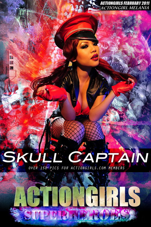 Melania - `Skull Captain` - for ACTIONGIRLS HEROES