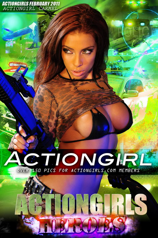 Carmel - `Actiongirl` - for ACTIONGIRLS HEROES
