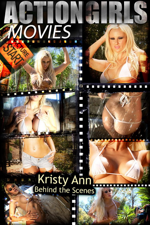 Kristy Ann - `Behind The Scenes` - for ACTIONGIRLS HEROES