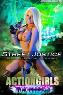 Brooke C in Street Justice gallery from ACTIONGIRLS HEROES