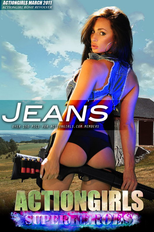 Rosie Revolver - `Jeans` - for ACTIONGIRLS HEROES