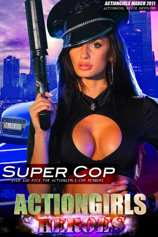 Rosie Revolver - `Super Cop` - for ACTIONGIRLS HEROES
