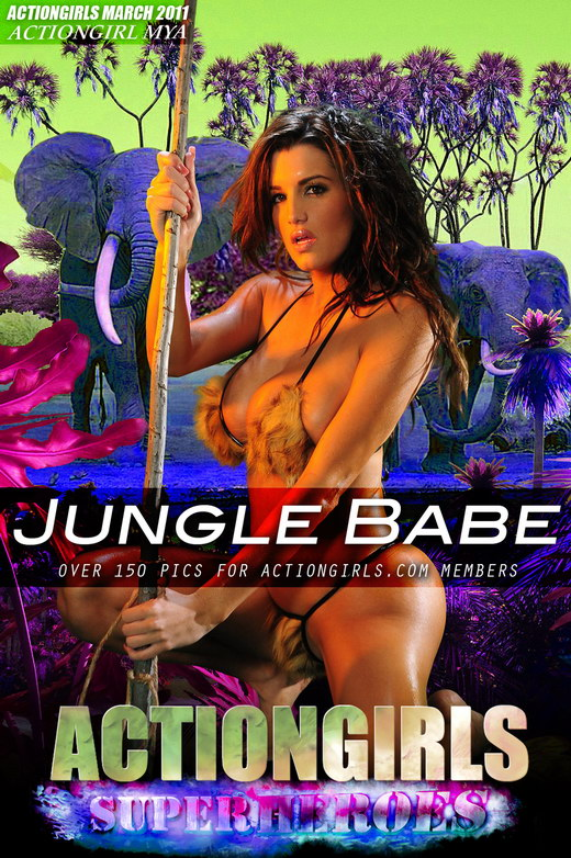 Mya - `Jungle Babe` - for ACTIONGIRLS HEROES