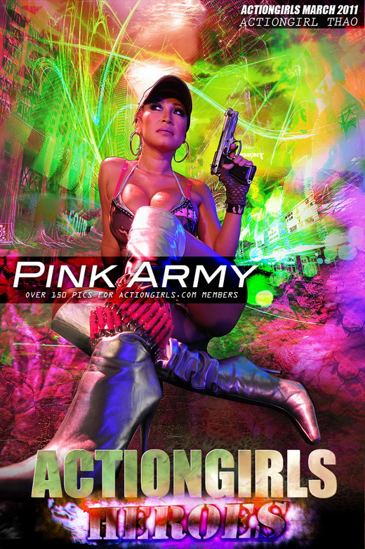 Thao - `Pink Army` - for ACTIONGIRLS HEROES