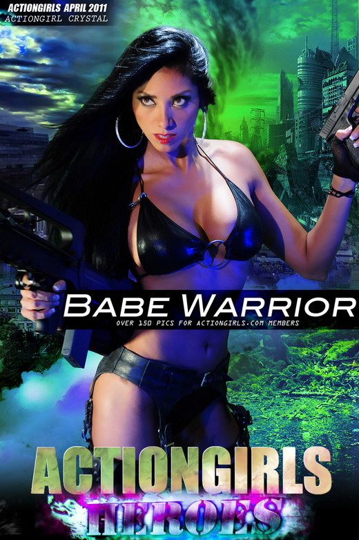 Crystal - `Babe Warrior` - for ACTIONGIRLS HEROES