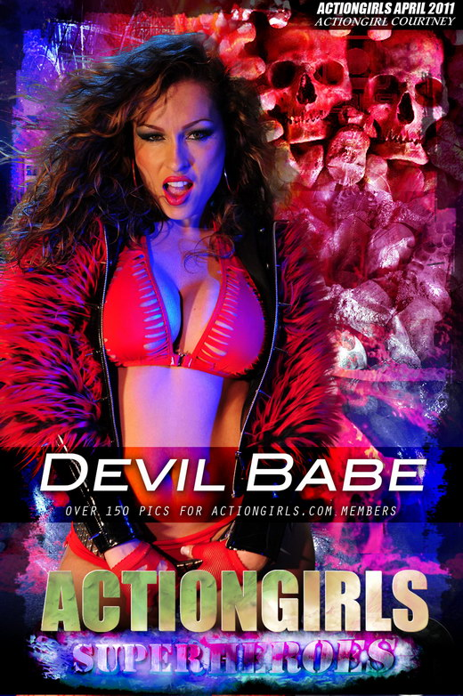 Courtney - `Devil Babe` - for ACTIONGIRLS HEROES