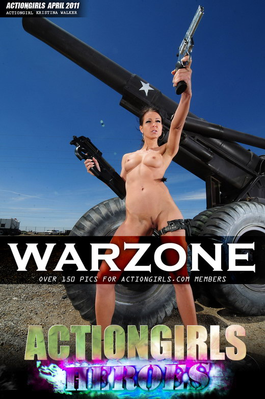 Kristina Walker - `Warzone` - for ACTIONGIRLS HEROES