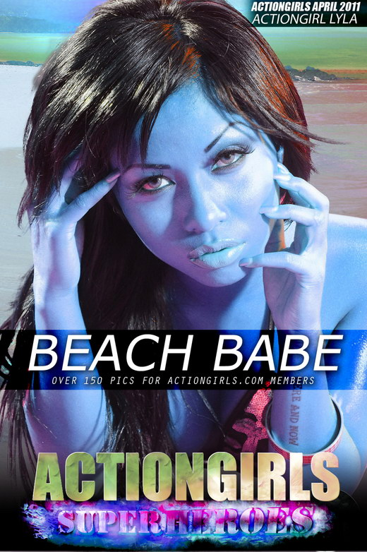 Lyla - `Beach Babe` - for ACTIONGIRLS HEROES
