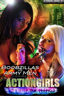 Charley & Brooke C in Boobzillas Vs Army Men gallery from ACTIONGIRLS HEROES