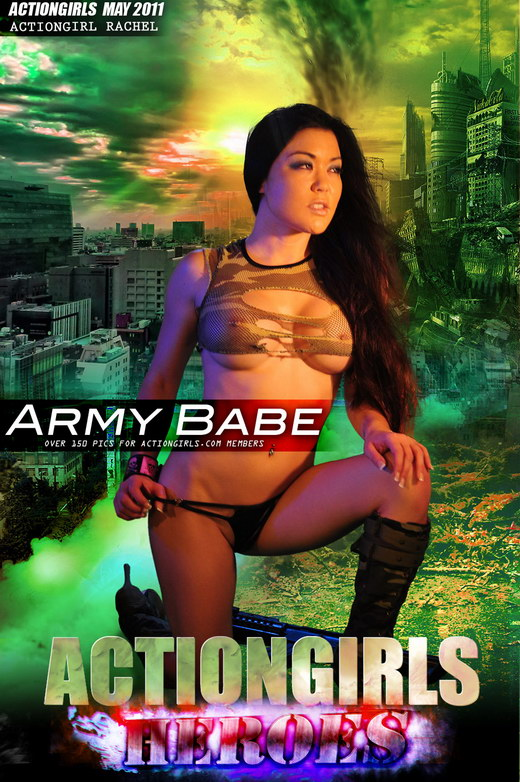 Rachel - `Army Babe` - for ACTIONGIRLS HEROES