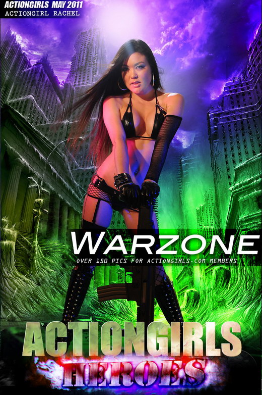 Rachel - `Warzone` - for ACTIONGIRLS HEROES