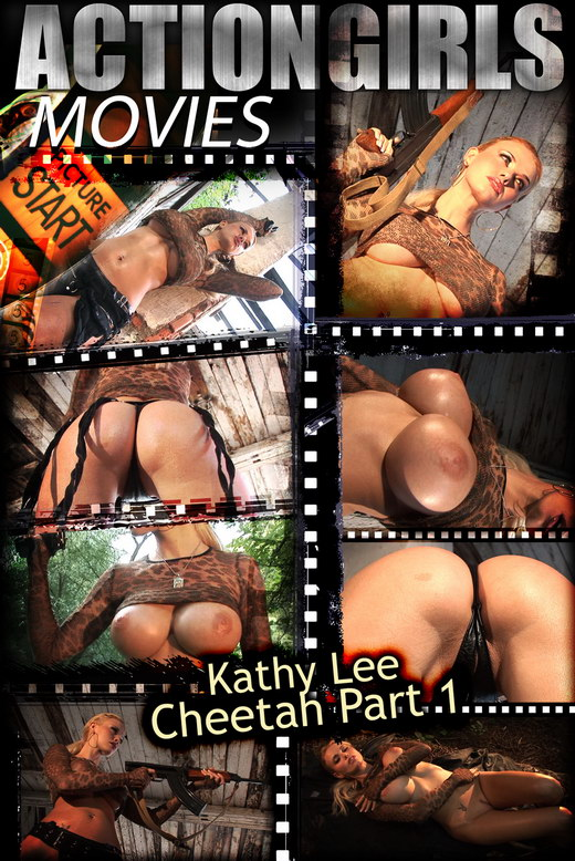 Kathy Lee - `Cheetah - Part 1` - for ACTIONGIRLS HEROES