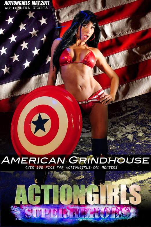 Gloria - `American Grindhouse` - for ACTIONGIRLS HEROES