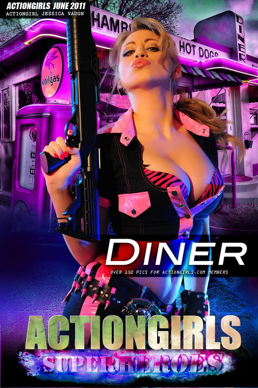 Jessica Vaugn - `Diner` - for ACTIONGIRLS HEROES