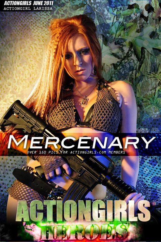 Larrisa - `Mercenary` - for ACTIONGIRLS HEROES