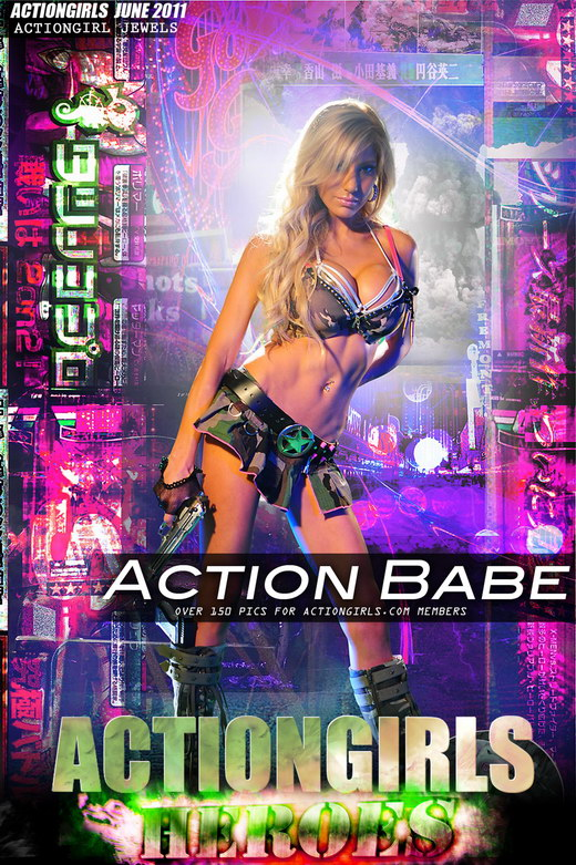 Jewels - `Action Babe` - for ACTIONGIRLS HEROES