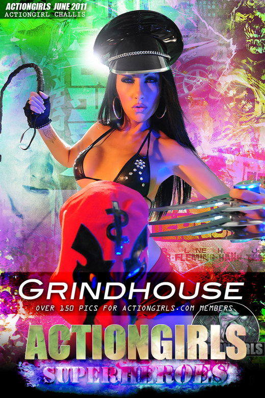 Challis - `Grindhouse` - for ACTIONGIRLS HEROES