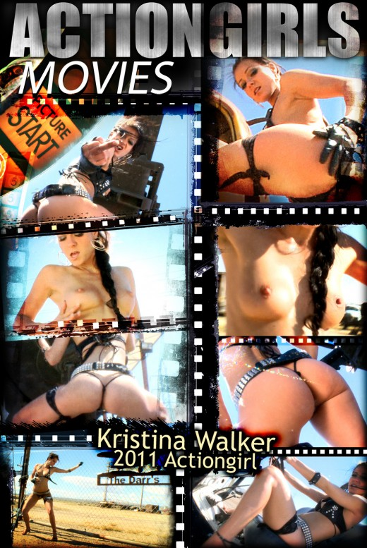 Kristina Walker - `2011 Actiongirl - Part 1` - for ACTIONGIRLS HEROES