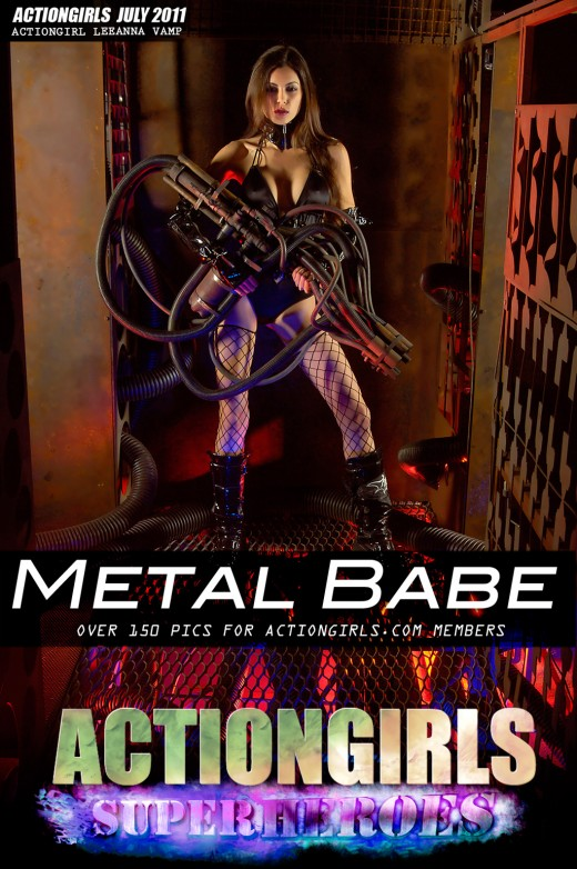 Leeanna Vamp - `Metal Babe` - for ACTIONGIRLS HEROES