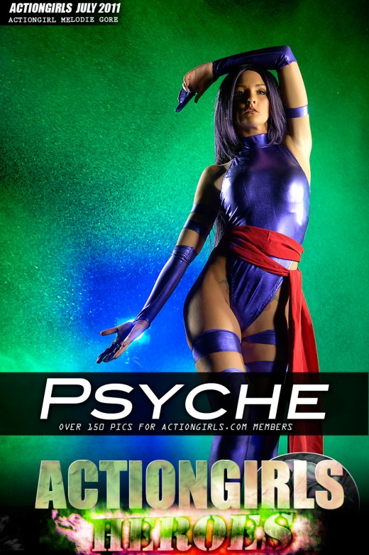 Melodie Gore - `Psyche` - for ACTIONGIRLS HEROES