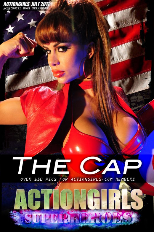 Nomi Fernandez - `The Cap` - for ACTIONGIRLS HEROES