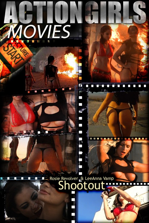 Rosie Revolver & LeeAnna Vamp - `Shootout` - for ACTIONGIRLS HEROES